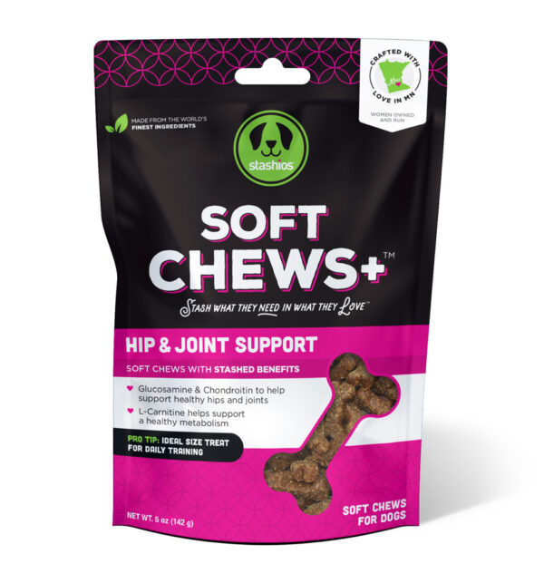 soft chews hip joint front stashios pet