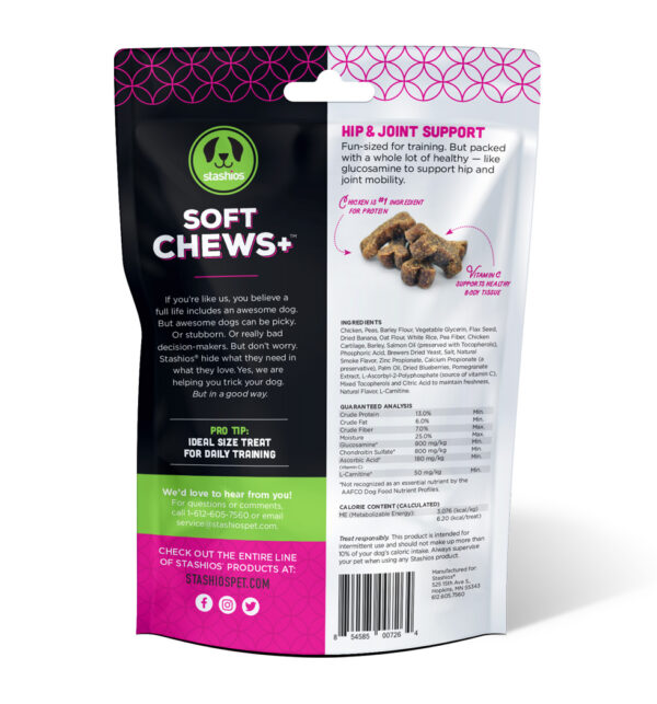 soft chews hip joint back stashios pet