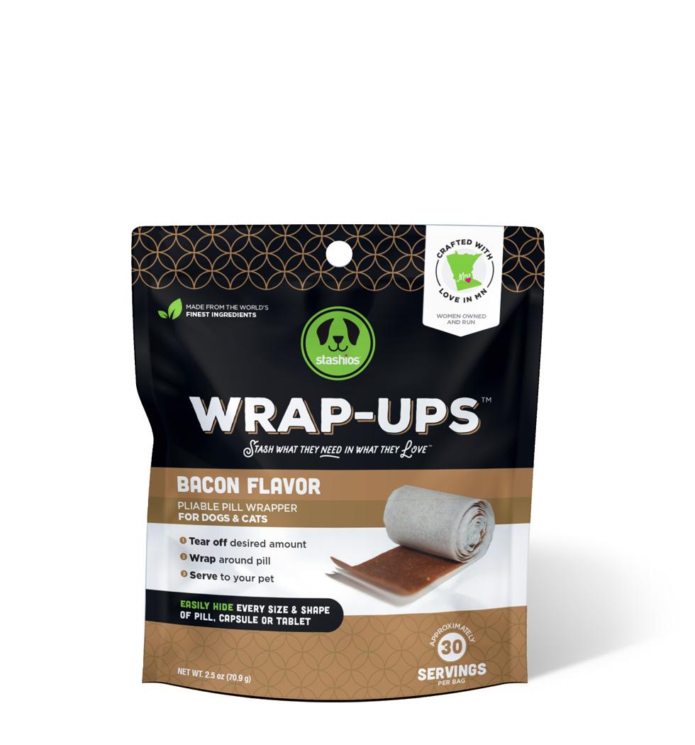 wrap-ups bacon flavor front stashios pet