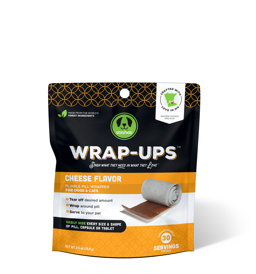 wrap-ups cheese flavor front stashios pet